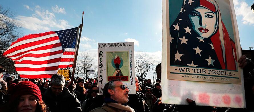 Trump travel ban creates world chaos