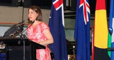 New Premier of NSW makes her mark on Australia Day