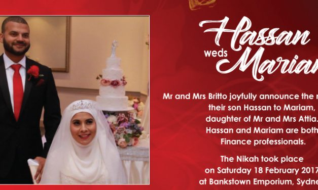 Hassan weds Mariam