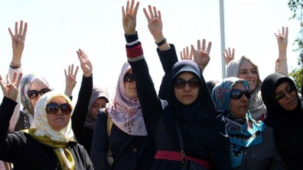 Turkey reverses headscarf ban