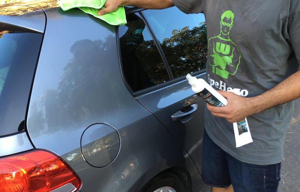 WipeHero: Innovative Waterless car cleaning