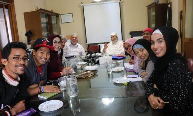 Indonesian Delegates meet Australian Muslims