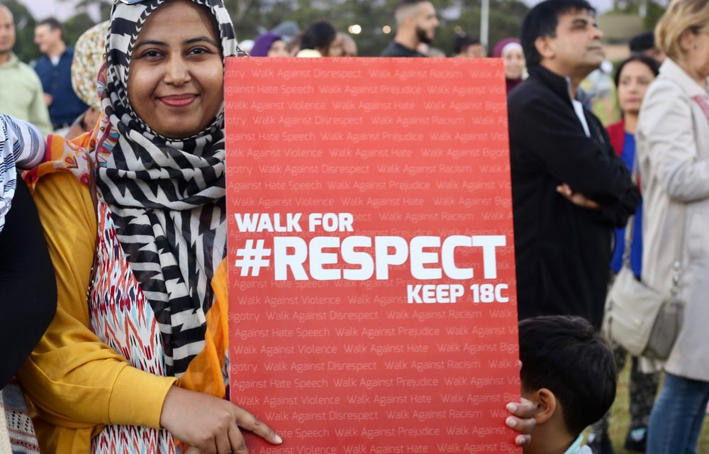 Walk for Respect in Lakemba