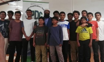 IPDC Youth learning camp in Victoria