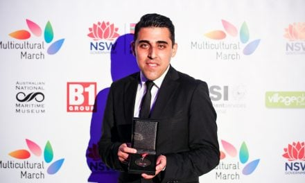 Multicultural Community Medal for Mohamed Hage