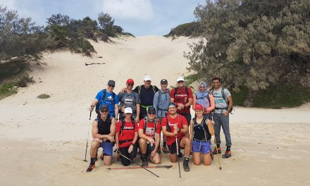Desert trek for youth housing