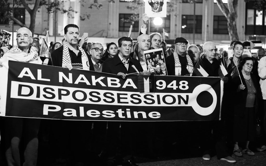 The Nakba: Sydney rally for Palestine