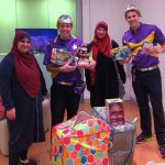 NZF and Alfirdaus Eid toy drive