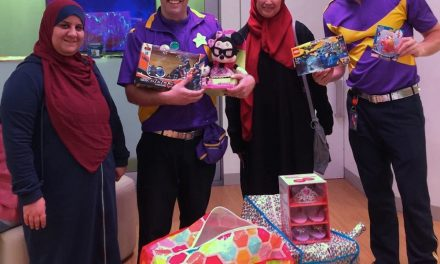 NZF and Alfirdaus Eid toy drive