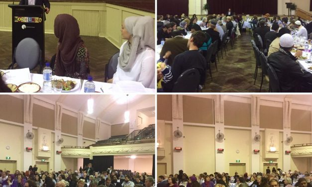 Green's Iftar for Community building in Melbourne
