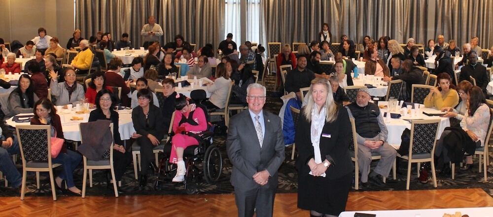 Chris Hayes hosts Fowler NDIS Forum