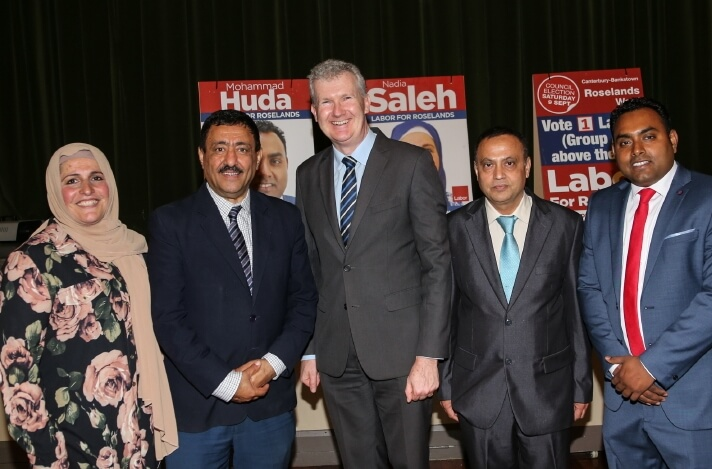 Muslim candidates contesting local government elections in Sydney