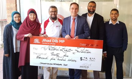 NZF reopens Zakat Centre in Lakemba