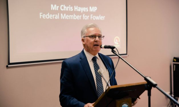 Chris Hayes' praise for MEFF in Parliament