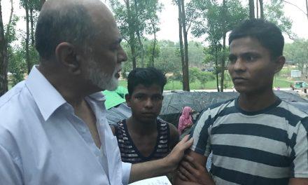 Imam Abdul Malik Mujahid writes from Rohingya refugees camp