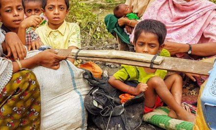 Muslim Aid on ground helping Rohingya