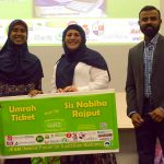 Quiz winner: Umrah ticket for Nabiha