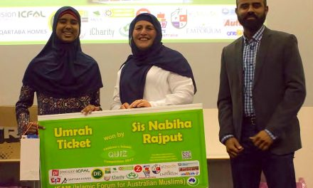 Quiz winner: Umrah ticket for Nabiha