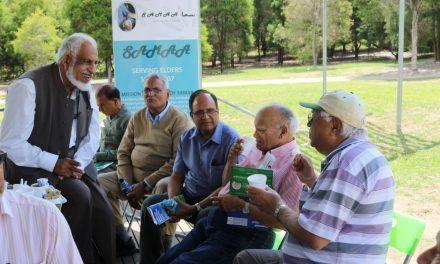 Enjoyment and information at seniors' picnic
