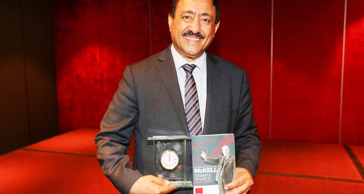Khodr Saleh receives McKell Award
