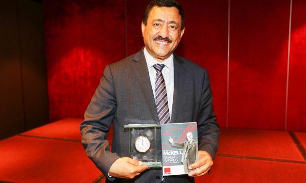 Khodr Saleh receives McKell Award