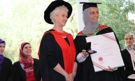 ISRA student wins University Medal at CSU
