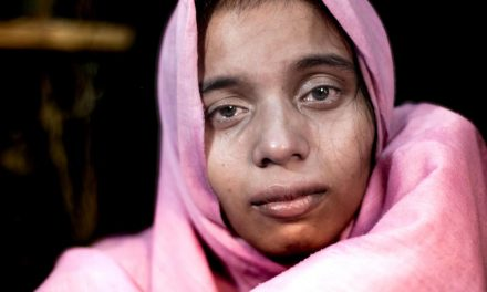 The suffering of Rohingya refugees