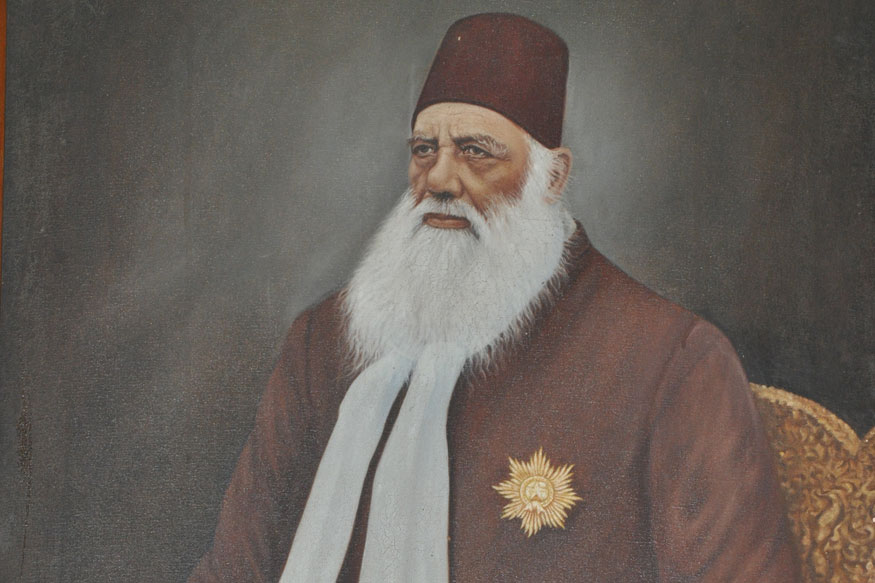 Sir Syed's mission towards modernisation