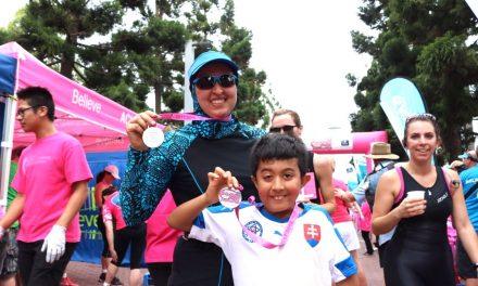Triathlon Pink at Sydney Olympic Park