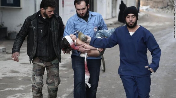 Civilians killed by Syrian regime with Russian backing