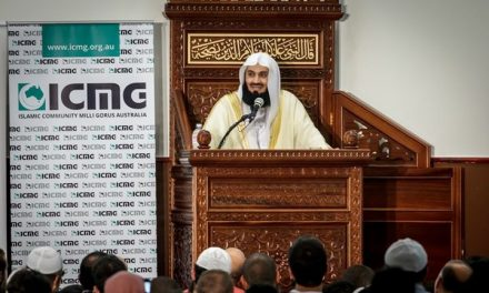 Mufti Menk's first visit to Melbourne