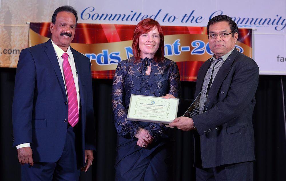Abbas Chelat wins double awards