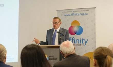Bob Carr shares vision of a dystopian future