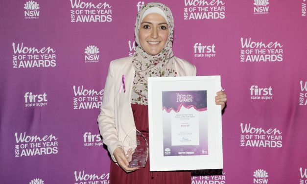 Shaza wins NSW Harvey Norman Award