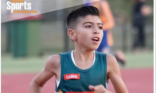 Zachariah Krayem: Bankstown Sports Little Athletics Club