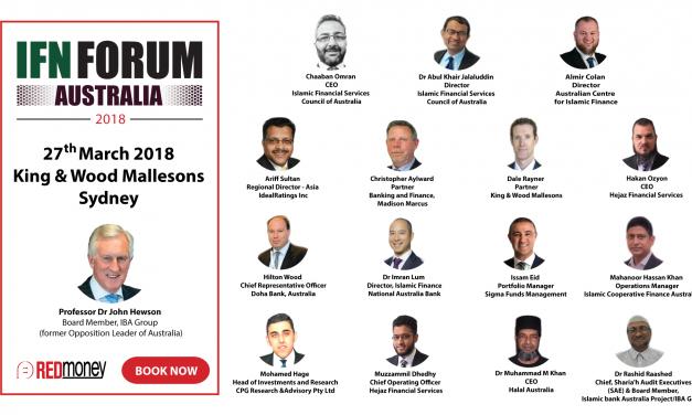 Register Now for the Islamic Finance Australia Forum
