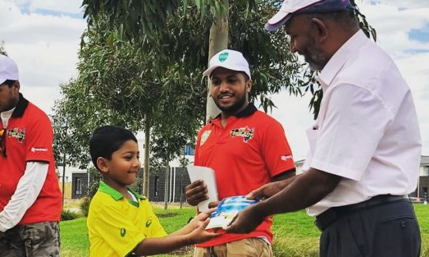 Western Eagles TRYCricket coaches junior talent