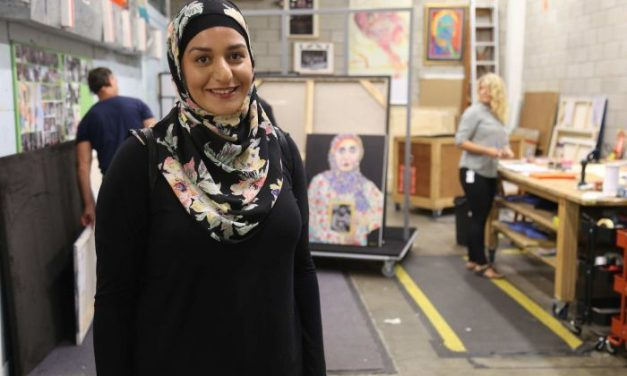Muslims in the Mainstream: Amani Haydar – Archibald Prize Entrant
