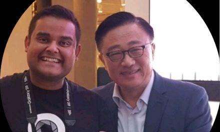 Tahir Alam bags Samsung Gold and Silver awards