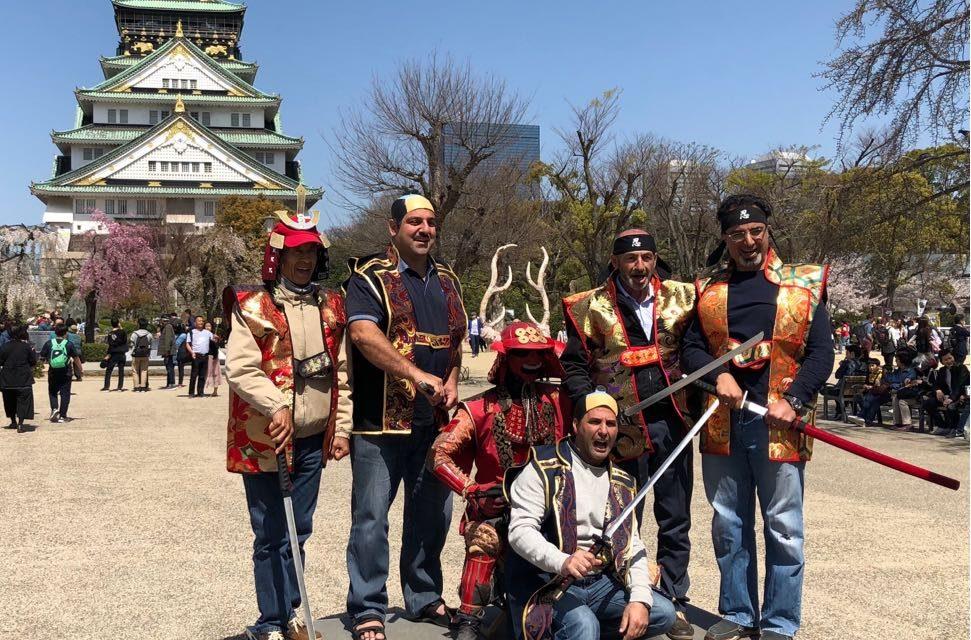 Amity Parents tour of Japan 2018