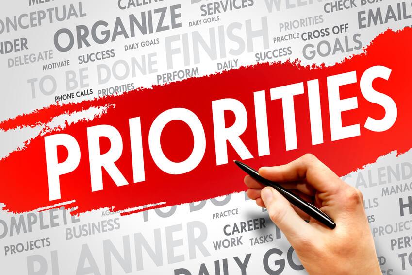 Prioritising 'needs' before 'wishes'