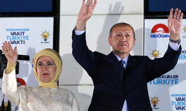 Erdogan win at Turkish elections