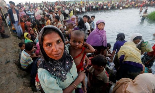 Chris Hayes raises plight of Rohingya in Parliament