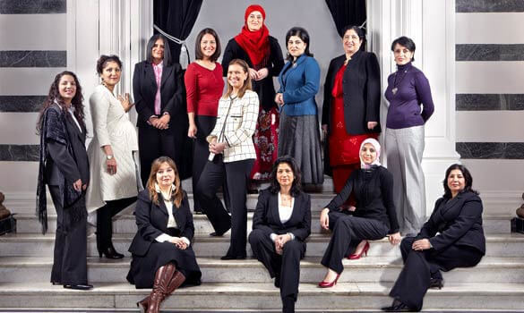 Gender equality in leadership positions
