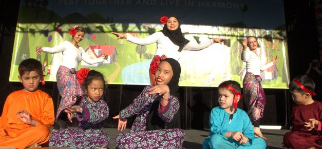 Muslim kids join Children's Festival in Campbelltown