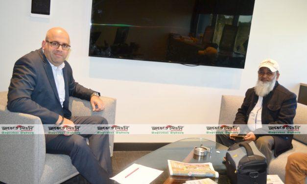 Suprovat Sydney Team meets Canterbury-Bankstown Mayor