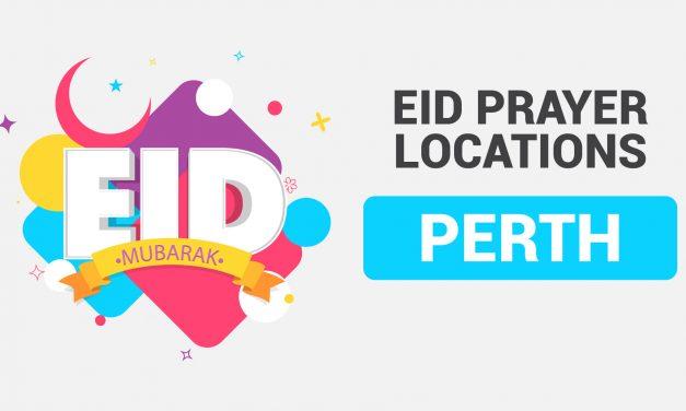 Eid Ul Adha Prayer Locations Perth