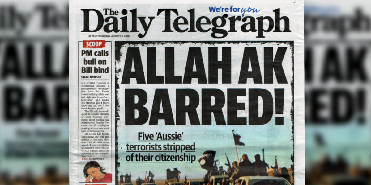 The Daily Telegraph condemned for provocative headline