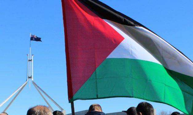 Canberrans Rally for Gaza