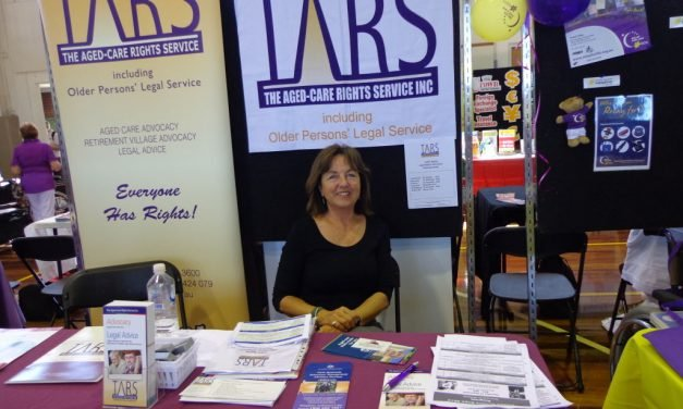 TARS Inc celebrating 26 years of Legal and Advocacy services to older people of NSW